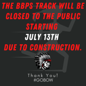 Track Closed for Construction